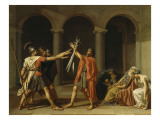 Le Serment des Horaces Giclee Print by Jacques-Louis David