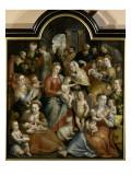 La Parenté de la Vierge Reproduction procédé giclée par Martin de Vos
