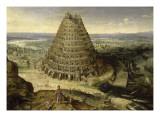 Der Turmbau Zu Babel Giclée-Druck von Lucas Van Valckenborgh