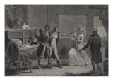 Toussaint Louverture à Saint-Domingue Reproduction procédé giclée