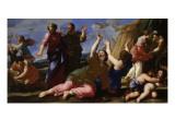 Le Passage des Cailles en Egypte Giclee Print by Giovanni Francesco Romanelli