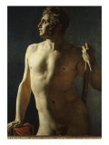 Torse ou demi-figure peinte Giclee Print by Jean-Auguste-Dominique Ingres