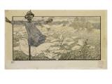 Le Rêve :L'Epouvantail Giclee Print by Carlos Schwabe