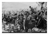 Le Héros de Marathon, l'attaque Giclée-Druck von François Vizzavona