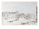 Le Grand Canal &#224; Venise Giclee Print by Francesco Guardi