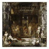 Les Filles de Thespius Giclee Print by Gustave Moreau