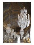 La galerie des glaces (état après restauration en 2007) Lámina giclée