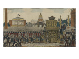 Translation of the Ashes of Napoleon at the Invalides Giclee Print
