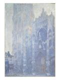 La cathédrale de Rouen. Le portail et la tour Saint-Romain, effet du matin Giclee Print by Claude Monet