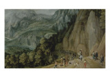 The Miraculous Deliverance of the Emperor Maximilian Giclée-Druck von Tobias Verhaecht