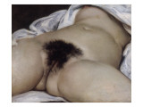 L'Origine du monde Giclée-tryk af Gustave Courbet