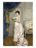 Le Billet Giclee Print by Auguste Toulmouche