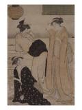 Le sixième mois : dans la fraicheur du soir Giclee Print by Torii Kiyonaga