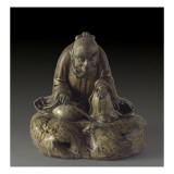 Le moine Saigyo Lámina giclée