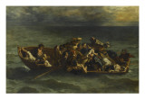 The Shipwreck of Don Juan (Byron, Don Juan, Canto Ii) Giclee Print by Eugene Delacroix