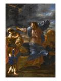 Le passage de la Mer Rouge Giclee Print by Giovanni Francesco Romanelli