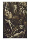 La Rsurrection du Christ Gicle-tryk af Giovanni Baglione