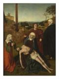 La Déploration du Christ ジクレープリント : ペトルス・クリストゥス