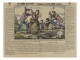 The Crime of Pantin: Murder of Family Kinck Roubaix Giclee Print