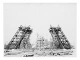 Les piliers de la Tour Giclee Print by Louis-Emile Durandelle