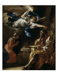 Le songe de Saint Joseph Giclee Print by Francesco Solimena