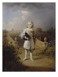 The King of Rome in the Tuileries Gardens (1811-1832) Giclee Print by Georges Rouget