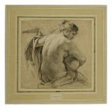 La Joueuse de Luth Giclée-Druck von Simon Vouet