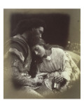 The Parting of Sir Lancelot and Queen Guenièvre Lámina giclée por Julia Margaret Cameron