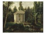Le Temple de l'Amour dans le parc de Malmaison Giclée-Druck von Jean Louis Victor Viger du Vigneau