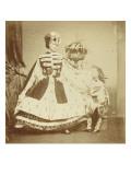 The Countess De Castiglione in Ermine, with His Son Giclee Print by Pierre Louis Pierson