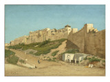 La Casbah d&#39;Alger Reproduction proc&#233;d&#233; gicl&#233;e par Alphonse Asselbergs