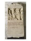 Stèle funéraire Reproduction procédé giclée