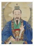 Le vénérable céleste du commencement originel, Yuanshi Tianzun Giclee Print