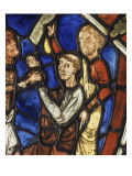 Theophilus Pact with the Devil, Stained Glass Gercy Giclee Print