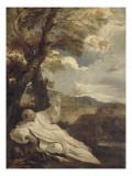 La Vision de Saint Bruno Giclée-tryk af Pier Francesco Mola