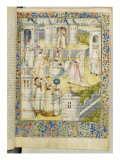 The Book of the City of Ladies by Christine De Pisan Giclee Print