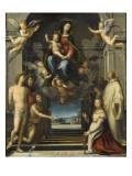 La Vierge de Ferry Carondelet Giclée-tryk af Fra Bartolommeo