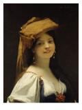 La jeune rieuse Lámina giclée por Jules Joseph Lefebvre