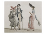 Les Merveilleuses Giclee Print by Antoine Charles Horace Vernet
