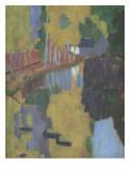 Le Talisman, l'Aven au Bois d'Amour, Pont-Aven Gicléetryck av Paul Serusier