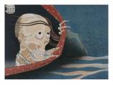 Le fantôme de Kohada Koheiji Giclée-Druck von Katsushika Hokusai