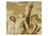 Le martyre de saint Barthélémy Giclée-Druck von Francois Andre Vincent
