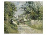 Le hameau de Valhermé (1880) Giclée-Druck von Victor Vignon