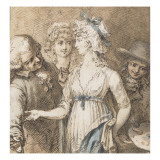 Les Deux amants Giclee Print by Thomas Rowlandson