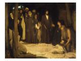 La résurrection de Lazare Impression giclée par Henry Ossawa Tanner