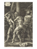 The Passion of Christ (1507-1513). the Flagellation Giclee Print by Albrecht Dürer
