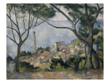 La mer &#224; l&#39;Estaque Giclee Print by Paul C&#233;zanne