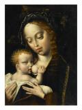La Vierge et l'Enfant Reproduction procédé giclée par Cleve Van