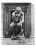 Le Penseur Giclee Print by Auguste Rodin