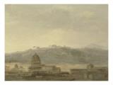 Blick auf Rom Giclée-Druck von Pierre Henri de Valenciennes